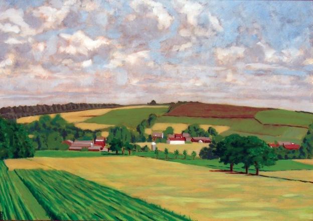 landscape of Bekkevoort