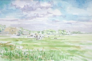 Schiermonnikoog landscape I