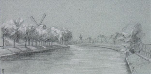 Kruispoorte drawing