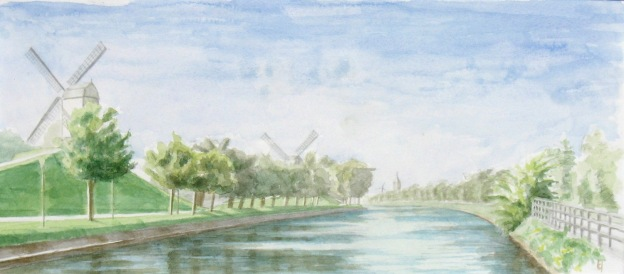 Kruispoorte watercolor