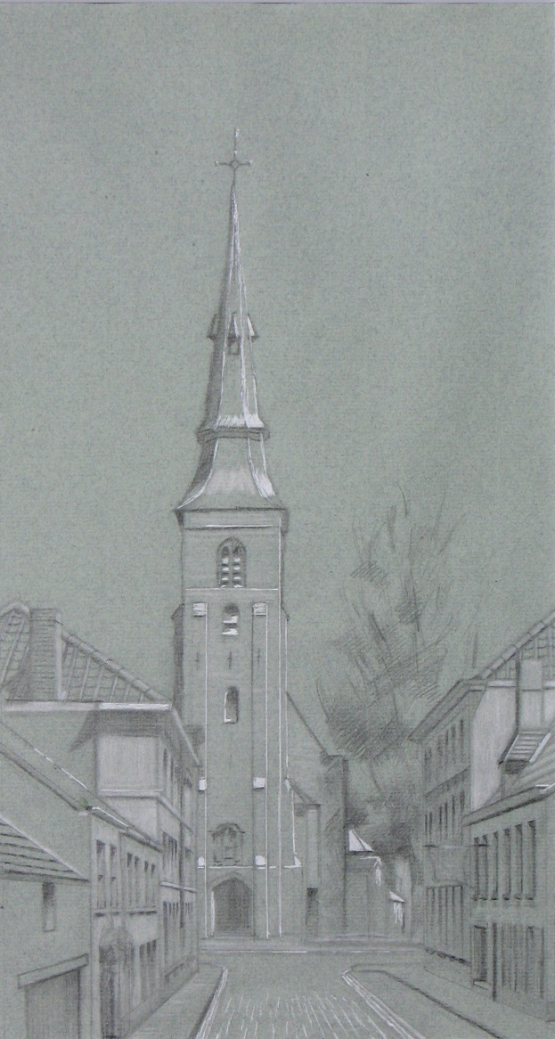 value study of the Sint Annakerk